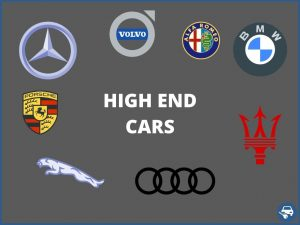 High end car keys