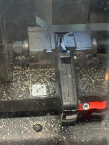 Mobile car key cutting machine