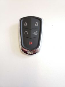 Cadillac remote key fob battery replacement information (Used for 2015 and up)