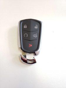 Cadillac key fob - Automotive locksmith can program a new fob on-site (2019-2020)