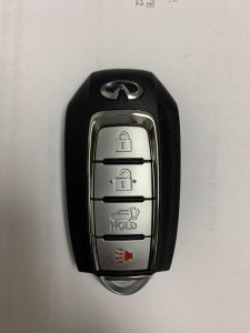 2019, 2020 Infiniti QX60 Remote Key Replacement KR5TXN7
