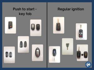 key fob vs regular ignition price of key