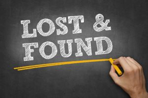 About 20% of people found their keys at the lost & found (gym or shopping)