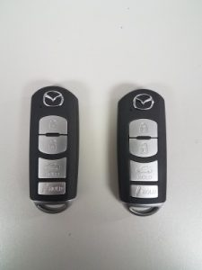 Mazda Car Keys Replacement - Fob Key