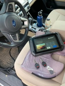 Automotive Locksmith Coding a Subaru Key