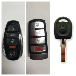 Volkswagen R32 Car Keys Replacement